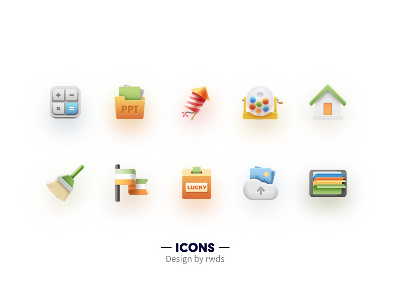 Icons 3 ppt home icons icon