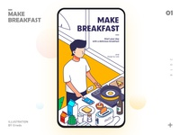Make breakfast