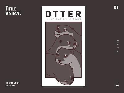 Otter ps illustration otter
