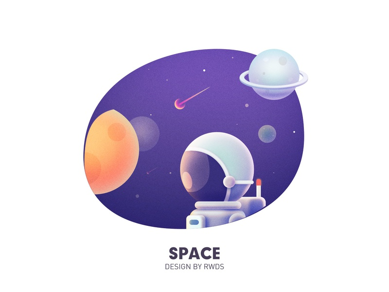 Space star space ps illustration
