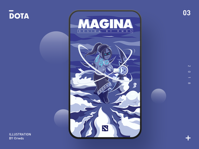 Magina illustration ps magina