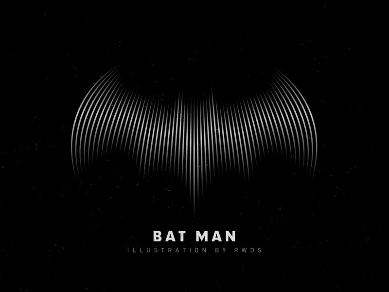 Batman ai illustration ps