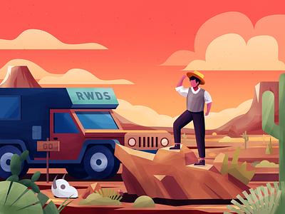 Travel illustration ps travel