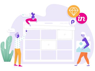 Team Product Illustration