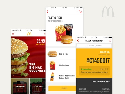 McDonald's McDelivery App
