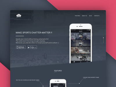 Couch Coach Landing Page ux ui landing page