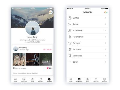 Retao Application #2 mobile app ux ui