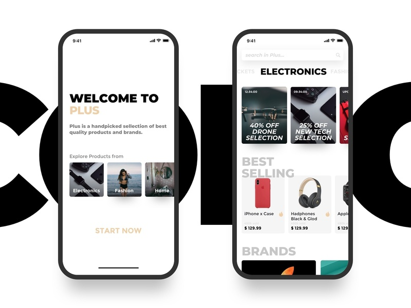 e-commerce app ux design ui deisgn ux ui shop mobile minimal ios flat ecommerce app ecommerce design clean app