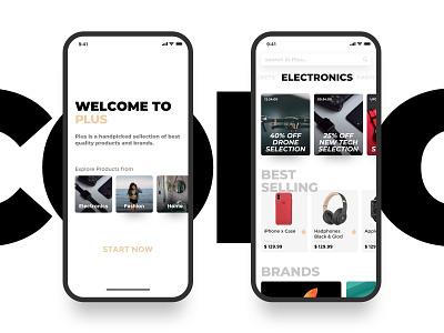 e-commerce app ux design ui deisgn ux ui shop mobile minimal ios flat ecommerce app ecommerce design clean app