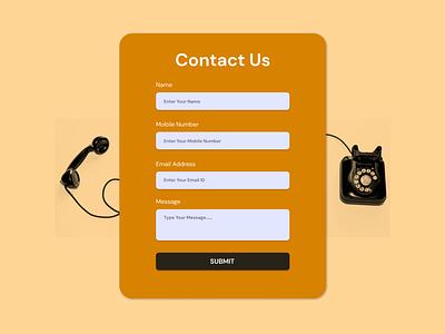 Day 28 - Contact Us interface dribbble design ui design ux contact us page contact us day 28 uidesign uiux ui adobe xd adobexd figma daily ui dailyuichallenge dailyui daily 100 challenge app