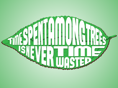 Environment Day! font text typography save earth nature environment day illustrator adobe design illustration
