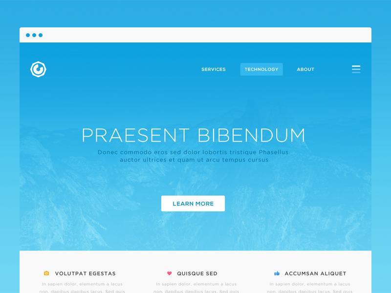 Tech WIP web website clean minimal tech