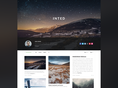 Tumblr Theme WIP webdesign web design tumblr appearly appearlythemes themes themeforest