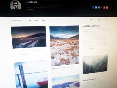 Tumblr Theme w/ Pixels tumblr webdesign web design portfolio appearly appearlythemes themes themeforest