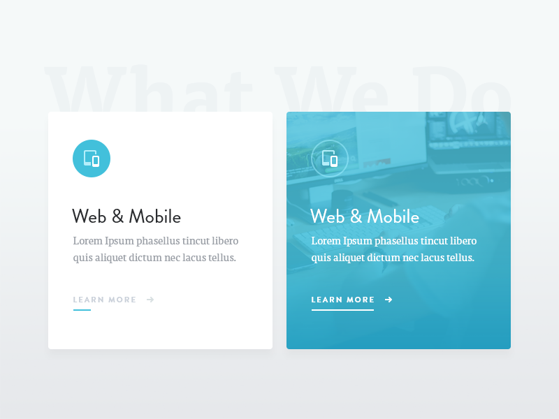 Services brainstorm whatwedo mobile web services ui