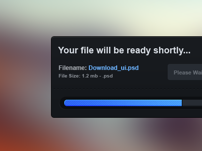 File Download UI