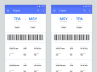 Daily UI: #024 Boarding Pass