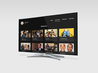 Daily UI: #025 TV App