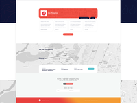 Daily UI: #028/#029 Contact Us and Map