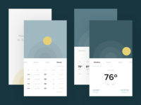 Daily UI: #037 Weather