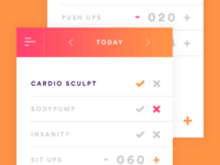 Daily UI: #041 Workout Tracker