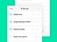 Daily UI: #042 To Do List