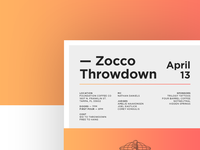 Zocco Throwdown
