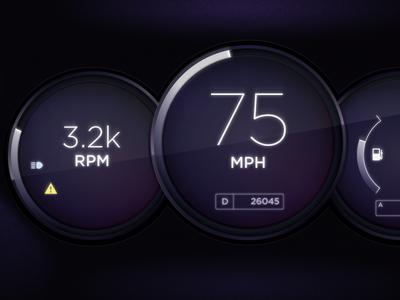 Volvo Dashboard Concept
