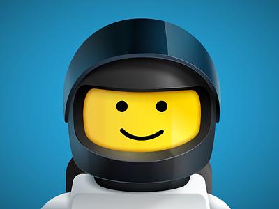 New Avatar lego illustration vector minifig space