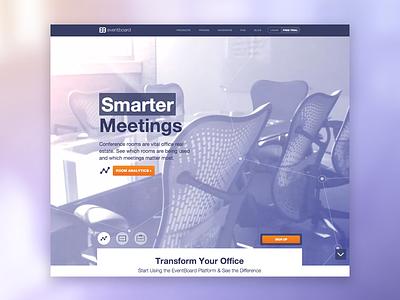 Eventboard Site website video meetings eventboard