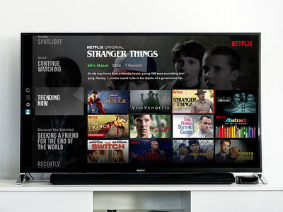 Less Clicking, More Binging app tv movies netflix streaming browse ux ui