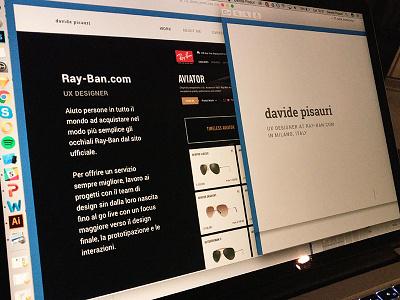 Waiting for davidepisauri.com work in progress ux design wip portfolio