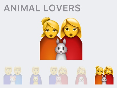 Emoji for Animal Lovers 🐾 ❤️ smiles facebook whatsapp love family animals emoji