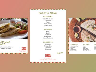 Design for a Latino Restaurant