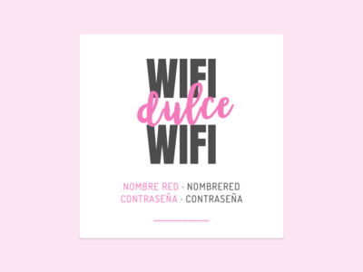 Wifi Poster