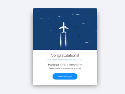 "Daily UI 54""Confirmed"" dailyui motion design uxdesign uidesign webdesign ui design illustration"