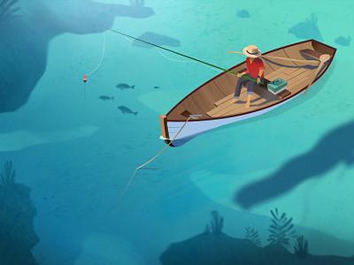 Fisherman fisherman sea boat