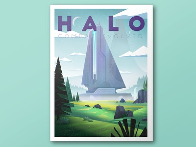 Halo poster halo