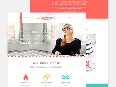 Matchmade Website Art Direction