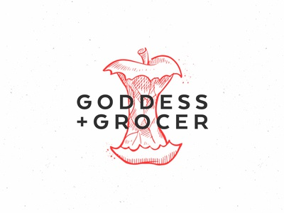Goddess and Grocer Logo Concept