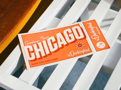 Greetings From Chicago - Postcard