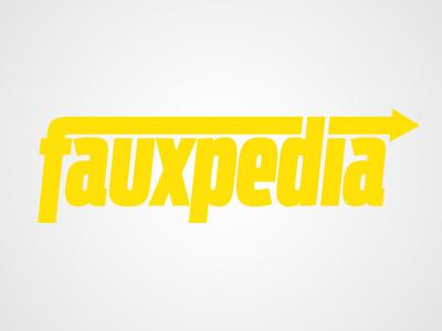 Fauxpedia delivery delivery service logo parcel service fake faux pedia