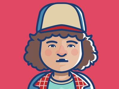 Dustin character stranger things henderson dustin