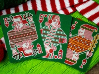 Deck The Halls - Ugly Christmas Sweater Playing Cards