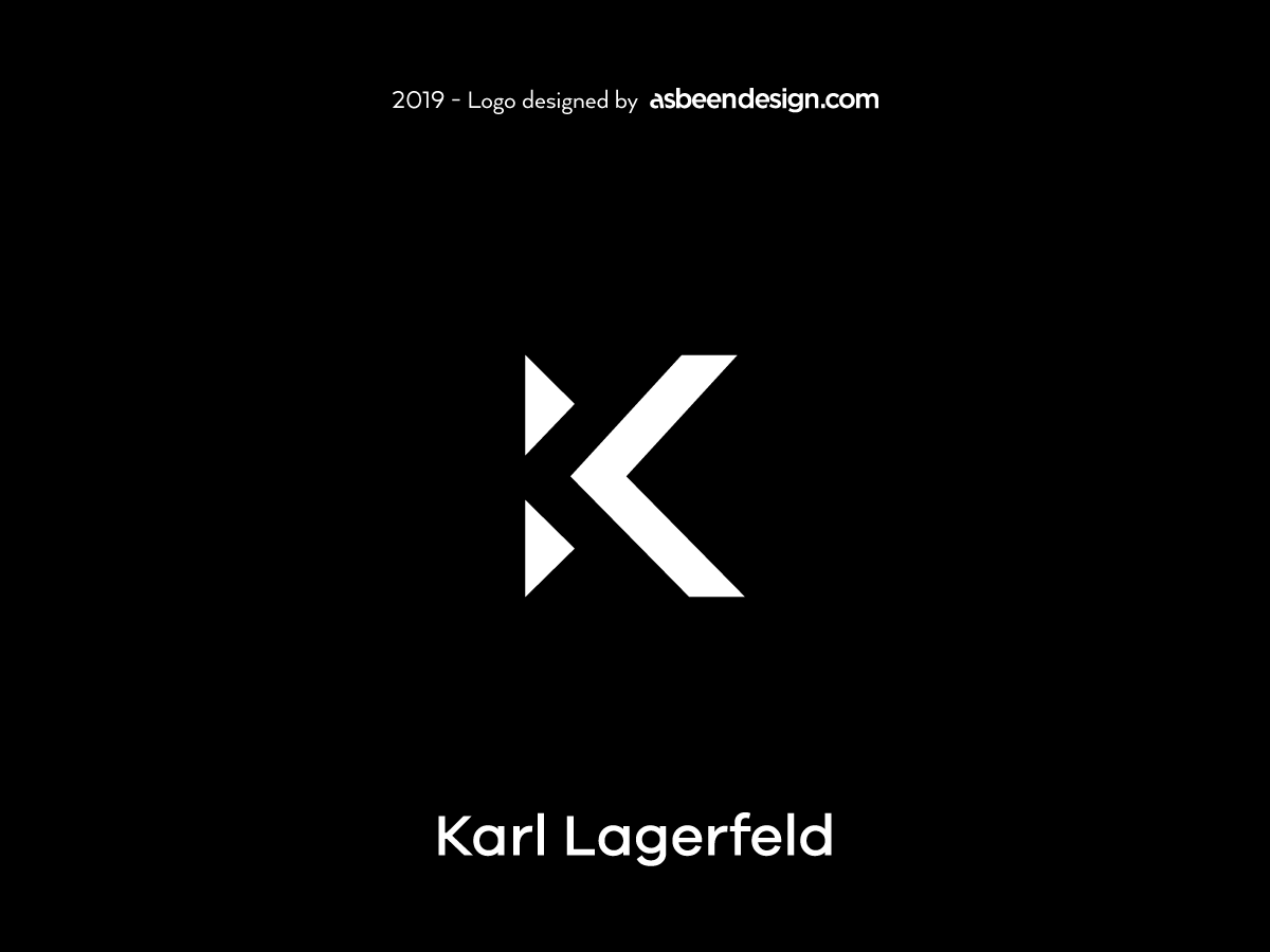 Karl Lagerfeld Tribute By Asbeendesign Dribbble Dribbble