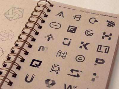 Alphabet Logo Collection.