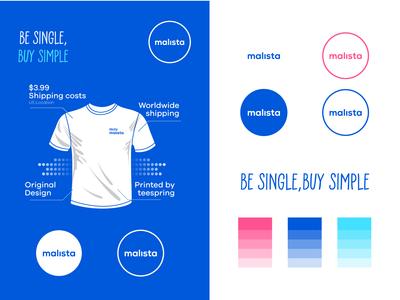 Minimalista Brand typography tshirt monogram minimalist mark logo identity icon fashion design custom colorfull branding brand apparel