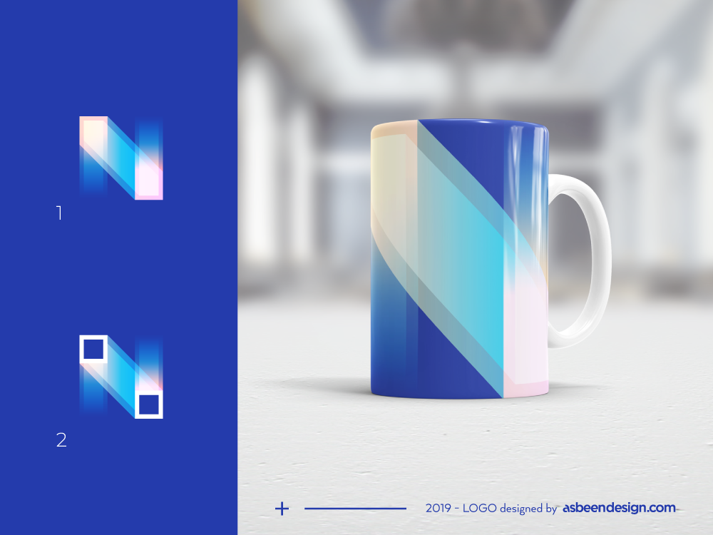 Nixi Identity agency digital minimal ui website web app ux branding icon identity monogram minimalist geometric mark clean brand logo design