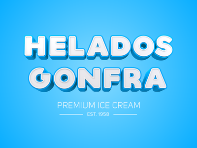 Helados Gonfra aftereffects motiongraphics 3dtype render c4d