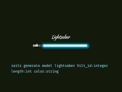 Rails Generate Lightsaber sandi metz sketch generate ruby rails star wars lightsaber shipt